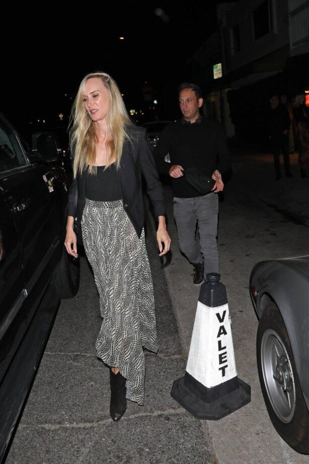Kimberly Stewart - Seen at Italian restaurant Giorgio Baldi in Santa Monica