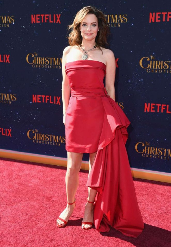 Kimberly Williams-Paisley – 'The Christmas Chronicles' Premiere in Los Angeles