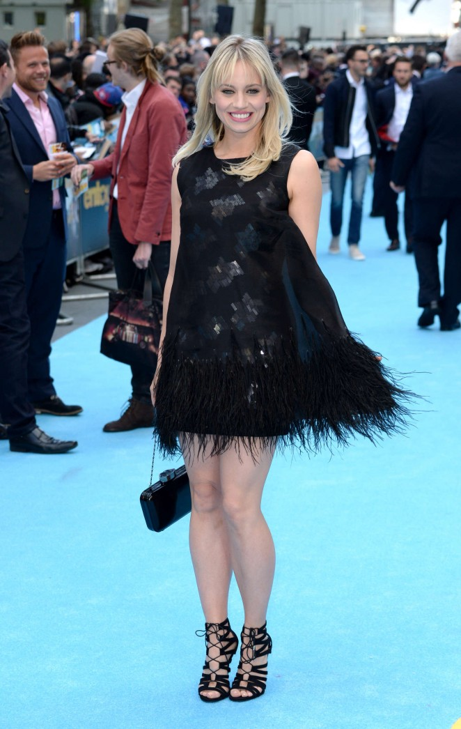 Kimberly Wyatt - 'Entourage' Premiere in London