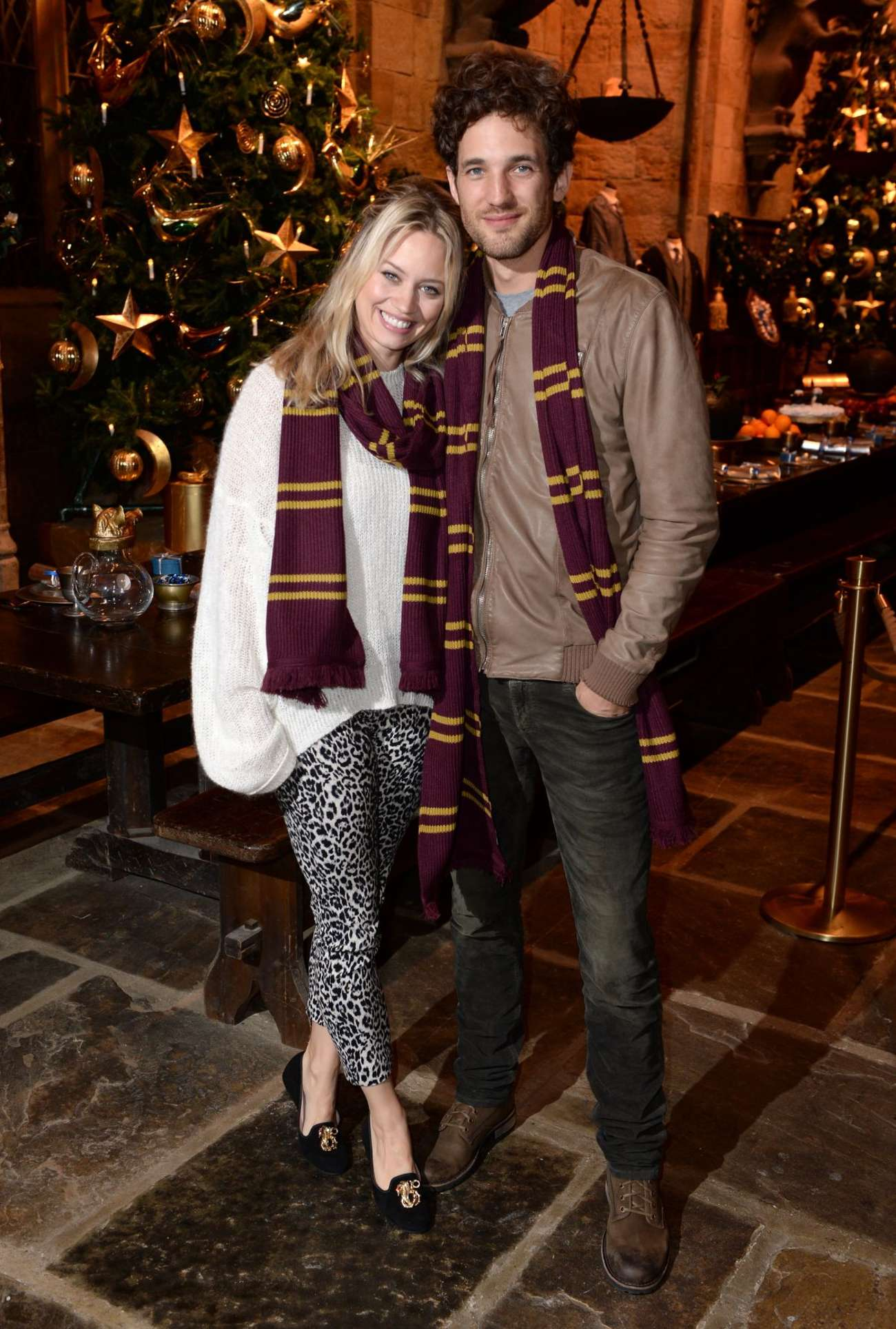 Kimberly Wyatt 2015 : Kimberly Wyatt: Hogwarts in The Snow Launch -02