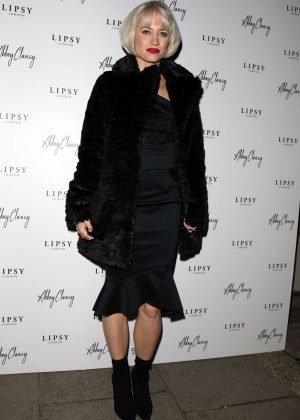 Kimberly Wyatt - Lipsy x Abbey Clancy Launch in London