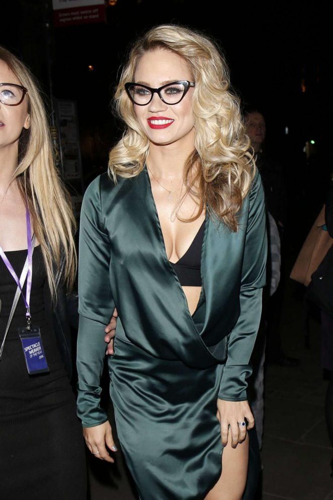 Kimberly Wyatt - Specsaver's Spectacle Wearer of the Year Awards in London