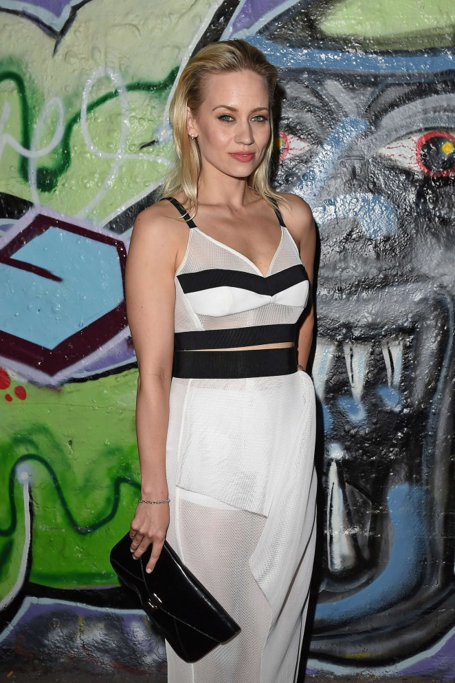Kimberly Wyatt - Storm Model Agency Party at House Of Vans pop up in London
