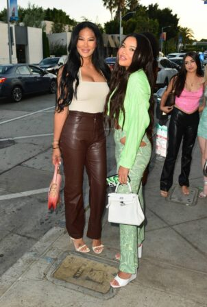 Kimora Lee Simmons - With Ming Lee Simmons are seen in Los Angeles