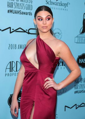 Kira Kosarin - 2018 Make-Up Artists and Hair Stylists Guild Awards in LA