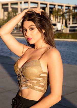 Kira Kosarin - Chris Fabregas Photoshoot (February 2018)