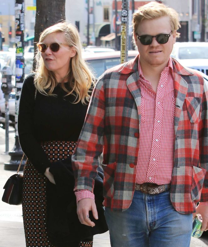 Kirsten Dunst and Jesse Plemons - Out in Los Angeles