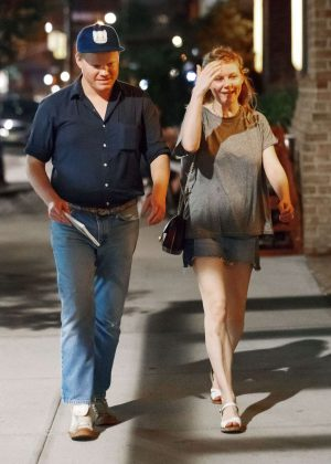 Kirsten Dunst and Jesse Plemons out in New York City