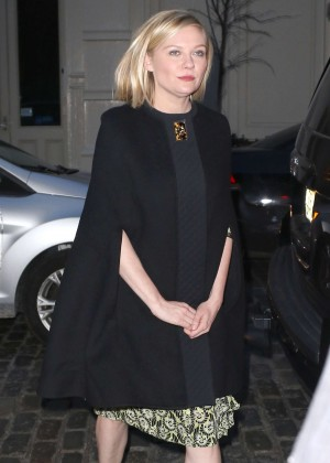 Kirsten Dunst - Arrives to the Soho in NY