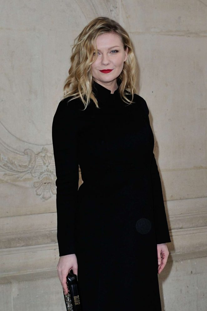 Kirsten Dunst at Christian Dior SS 2017 Show in Paris