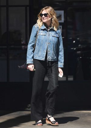 Kirsten Dunst at Good Friday family brunch in LA