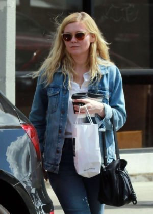 Kirsten Dunst at Joan's On Third in Studio City