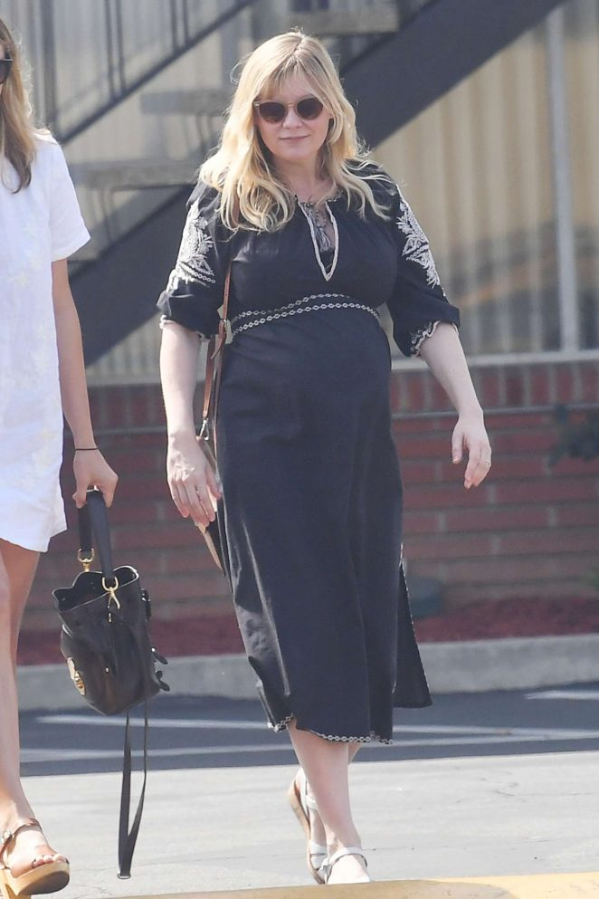 Kirsten Dunst - Attends a church service in LA