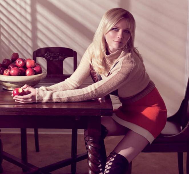 Kirsten Dunst - Gotham Magazine (September 2015)