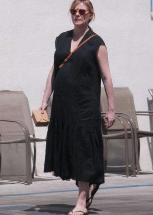 Kirsten Dunst in Long Black Dress