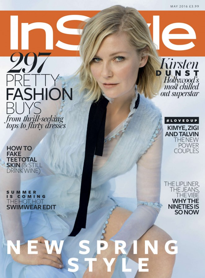 Kirsten Dunst - InStyle UK Magazine (May 2016)