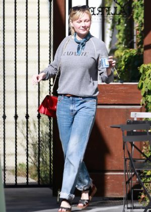 Kirsten Dunst - Is seen in Los Angeles