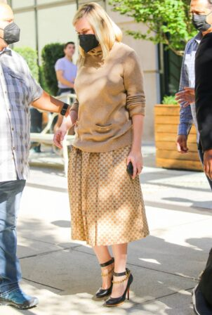Kirsten Dunst - Out and about in New York