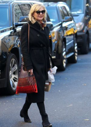 Kirsten Dunst - Out in New York City