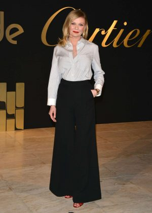 Kirsten Dunst - 'Panthere de Cartier' Watch Launch in Los Angeles