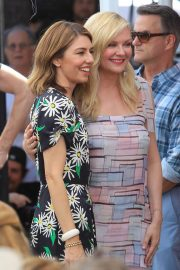 Kirsten Dunst - Pictured at her Hollywood Walk of Fame Star ceremony with Sofia Coppola