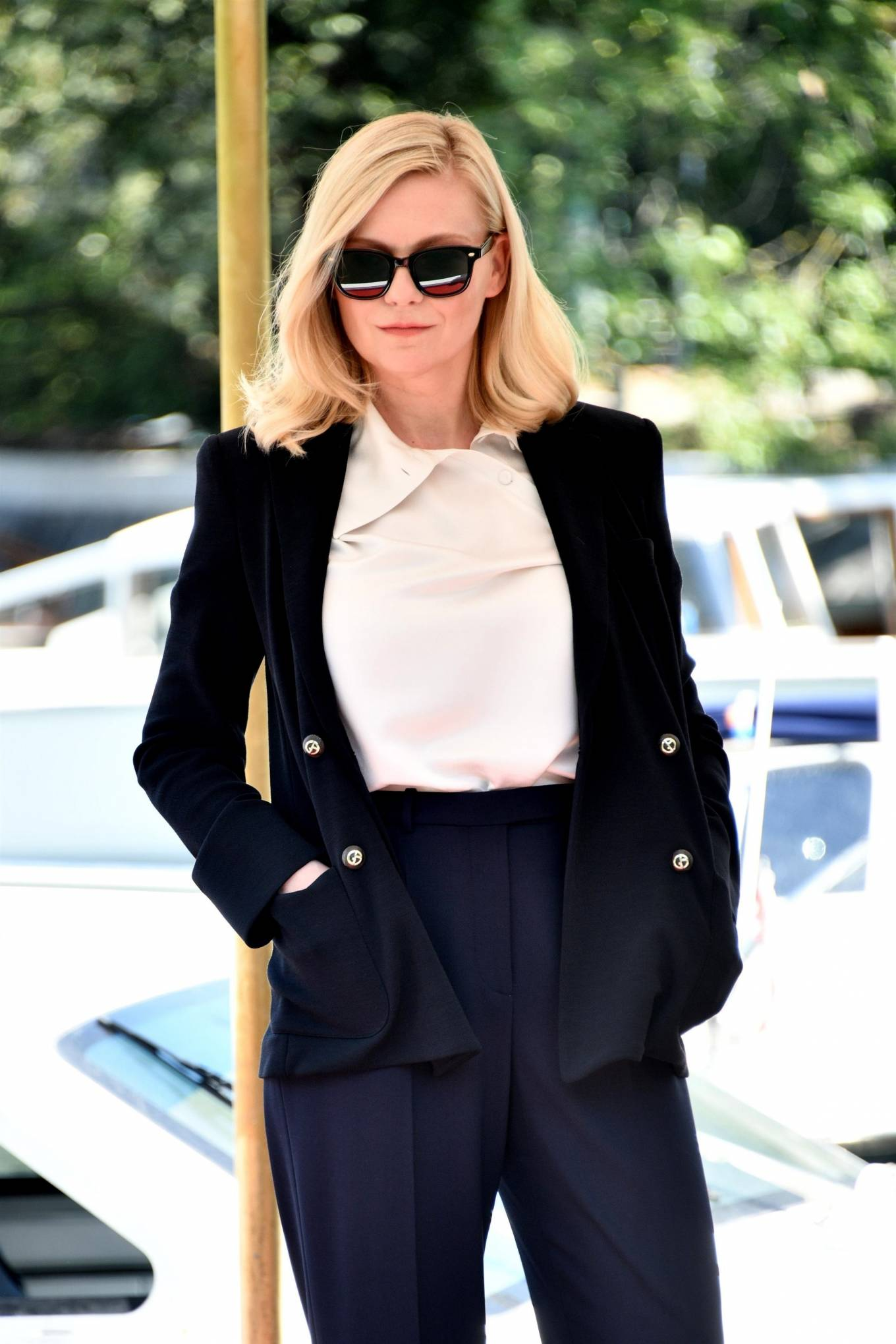 Kirsten Dunst - Pictured at hotel Excelsior in Venice