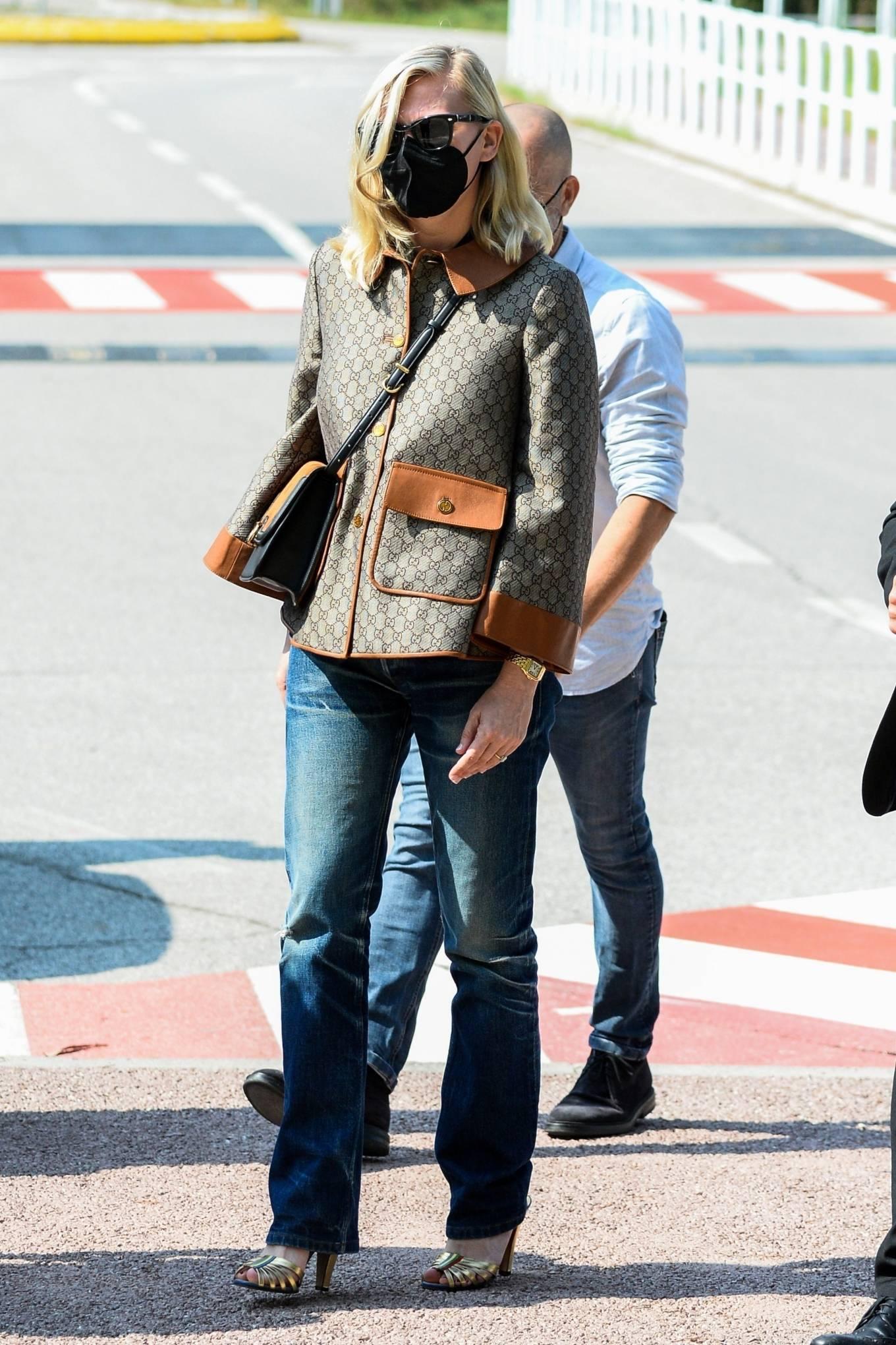 Kirsten Dunst - Seen out in Venice