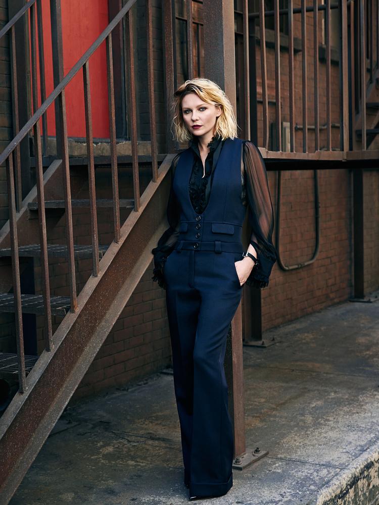 Kirsten Dunst 2015 : Kirsten Dunst: The Edit Magazine 2015 -05