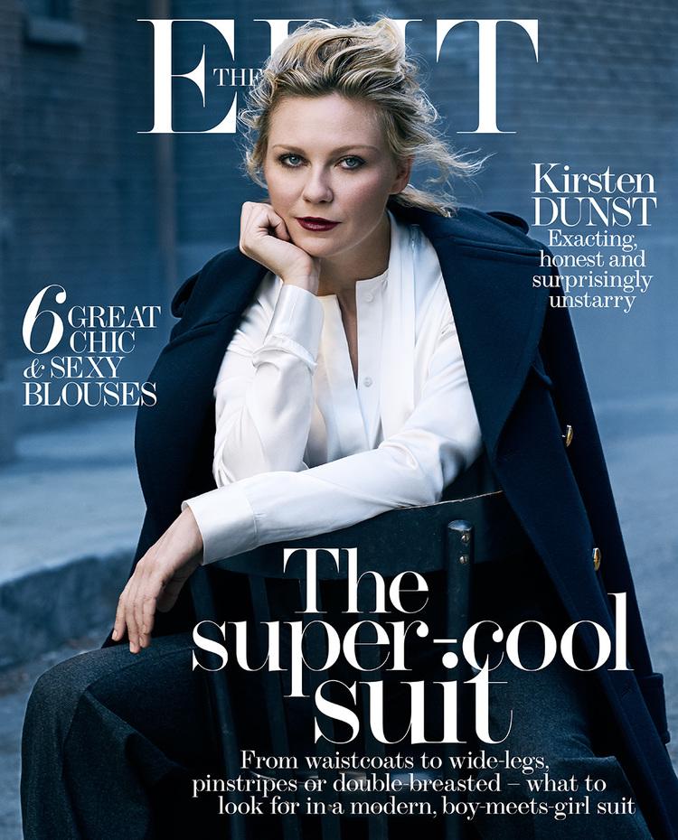 Kirsten Dunst 2015 : Kirsten Dunst: The Edit Magazine 2015 -07
