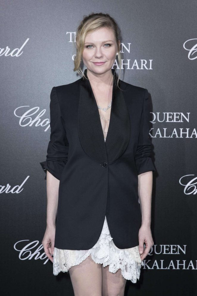 Kirsten Dunst - 'The Garden of Kalahari' Movie Presentation in Paris