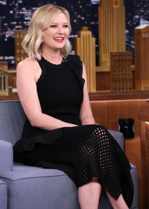 Kirsten Dunst - The Tonight Show With Jimmy Fallon in NY