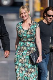 Kirsten Dunst - Visits Jimmy Kimmel Live! in Hollywood