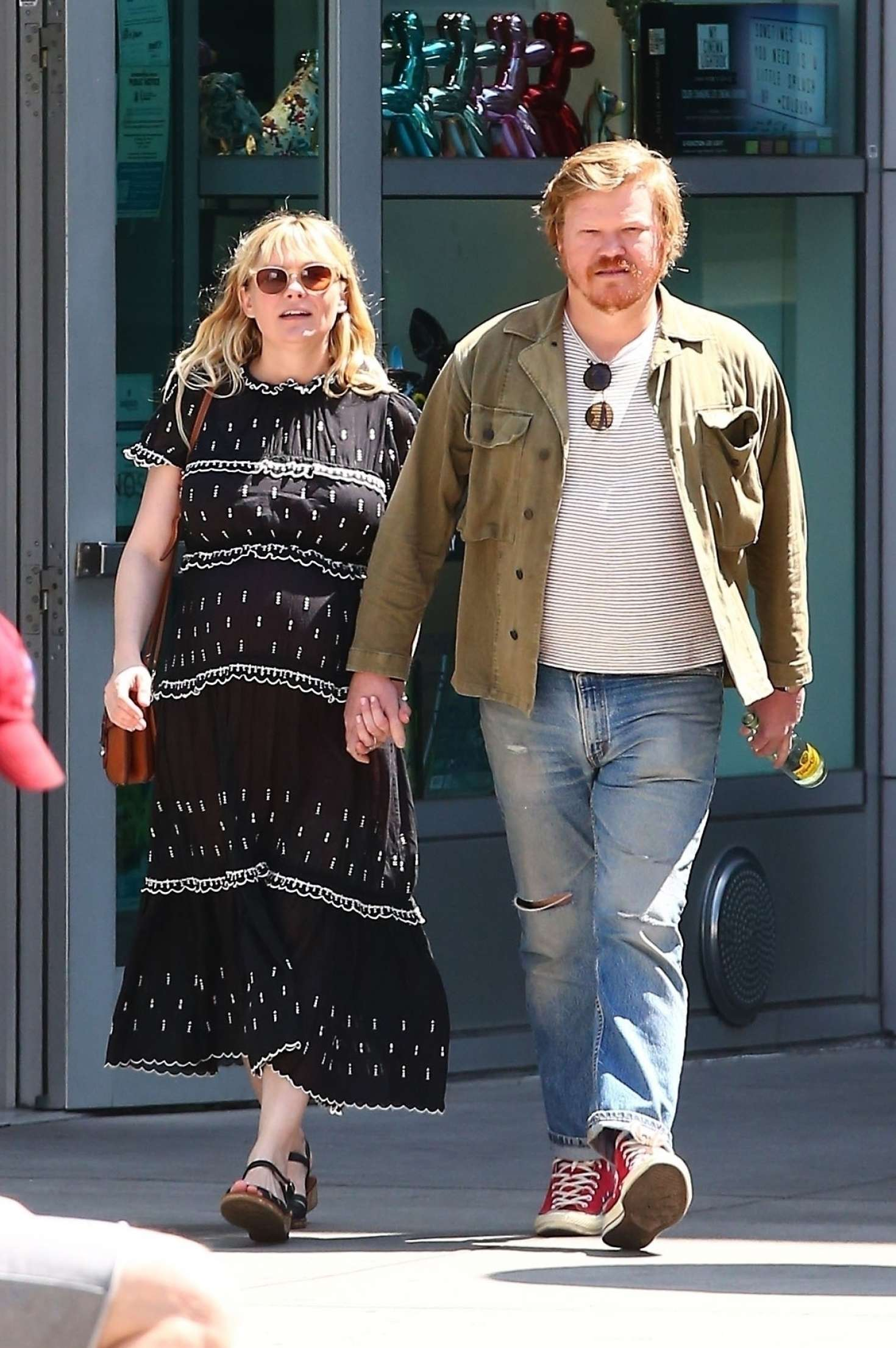Kirsten Dunst with husband out in Hollywood -01 | GotCeleb