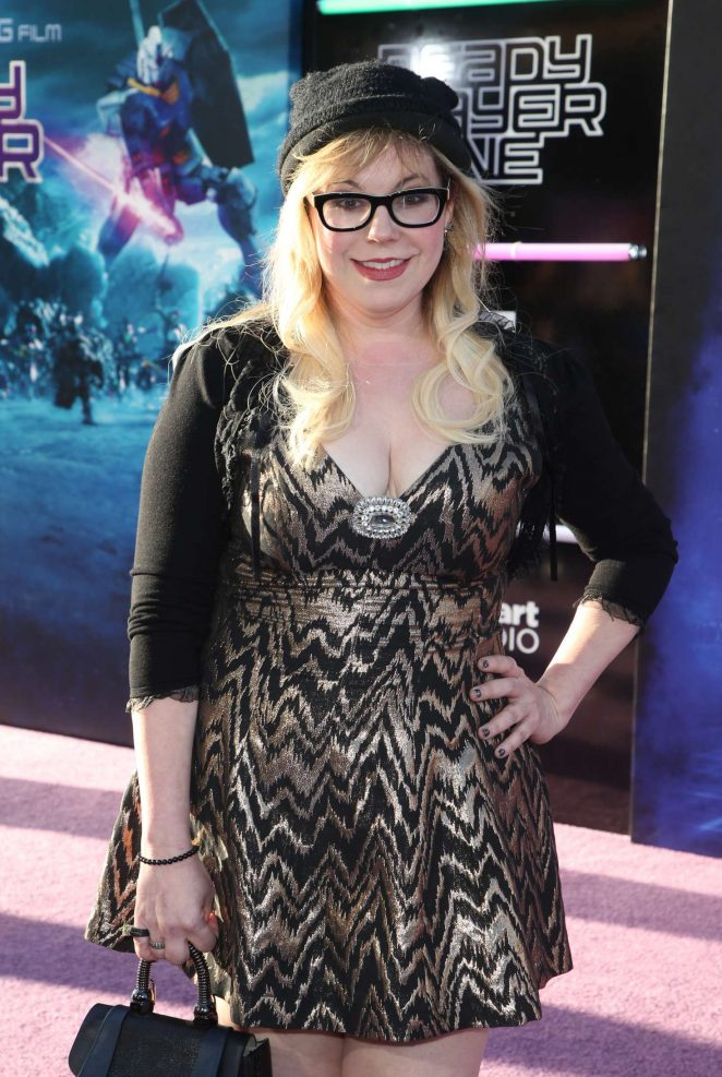 Kirsten Vangsness Ready Player One Premiere In
