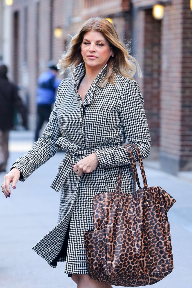 Kirstie Alley out and about in New York City