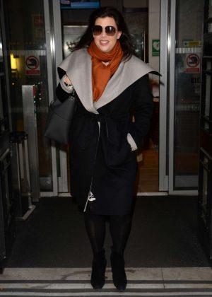 Kirstie Allsopp at BBC Studios in London
