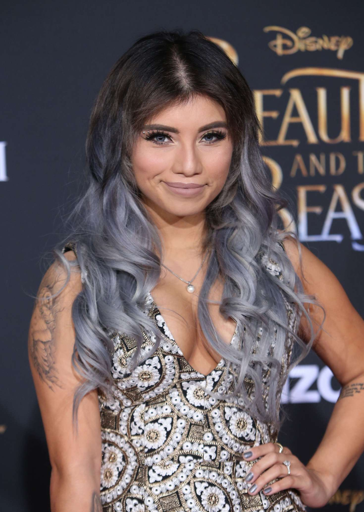 Kirstin Maldonado Beauty And The Beast Premiere In Los
