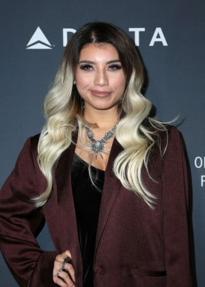 Kirstin Maldonado - Delta Air Lines celebrates Grammy Weekend in LA