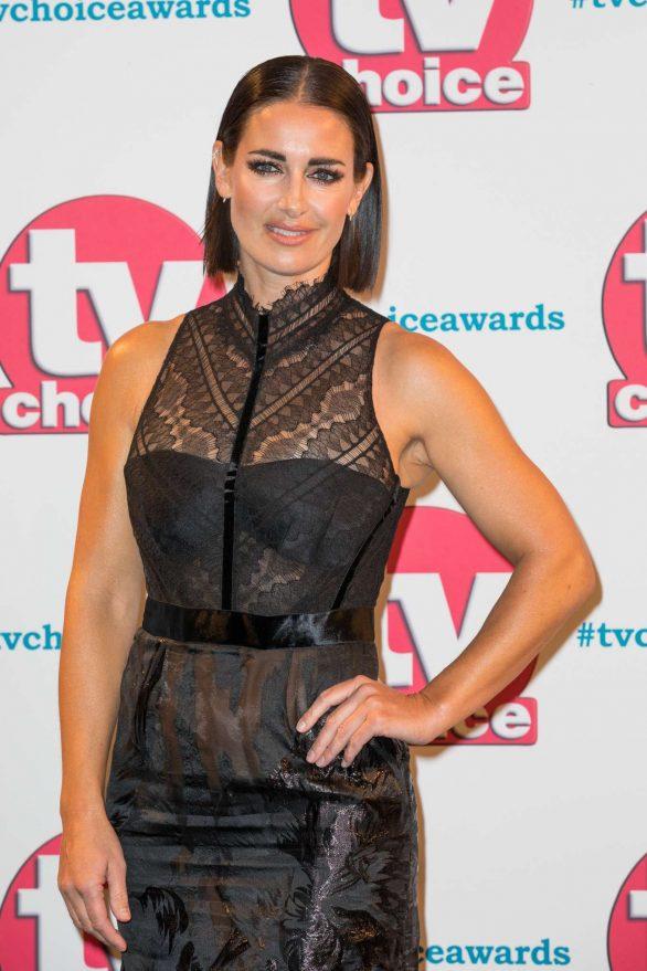 Kirsty Gallacher - 2019 TV Choice Awards in London