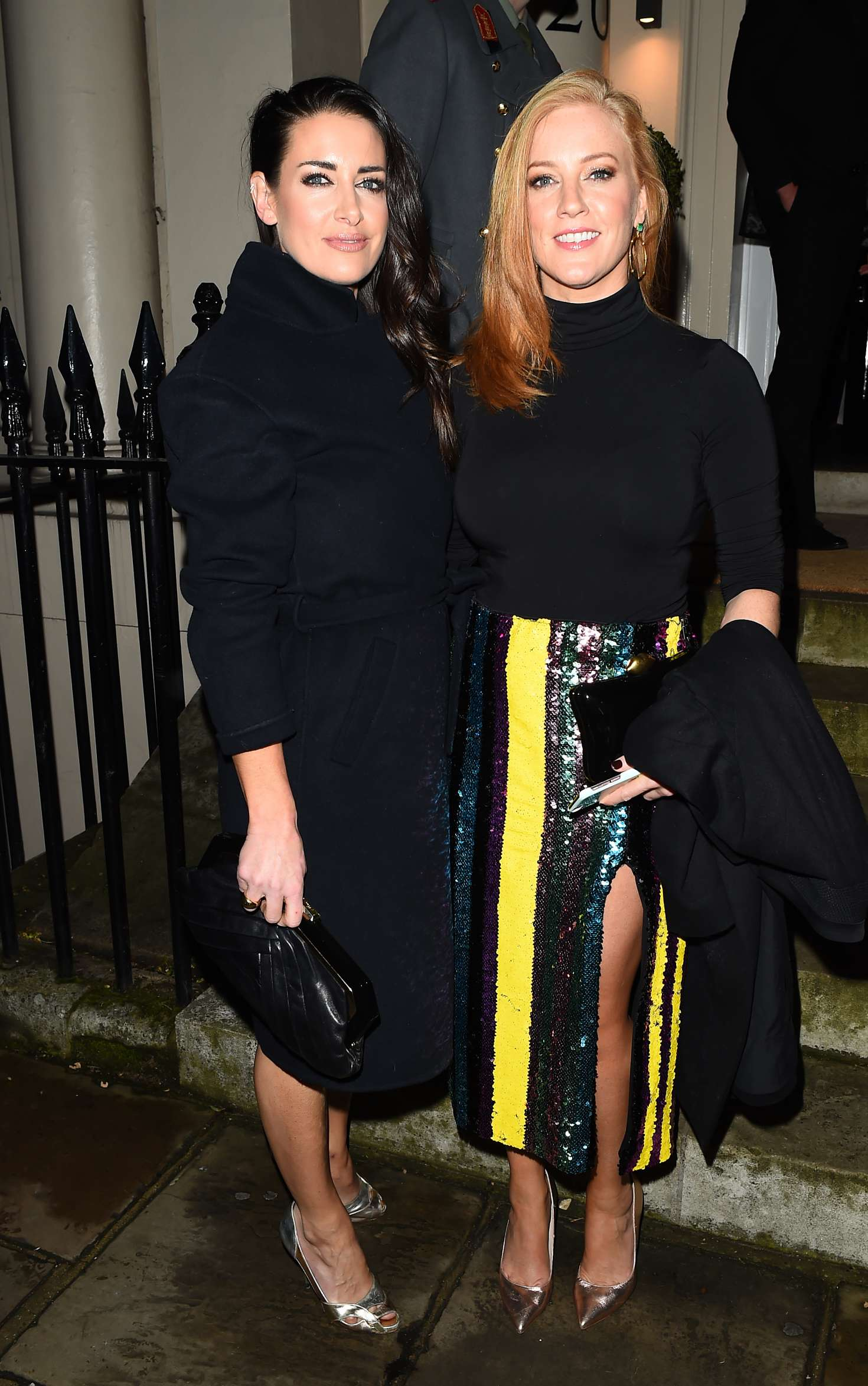 Kirsty Gallacher and Sarah-Jane Mee - Evgeny Lebedev Hosts a Lavish Christmas Party in London