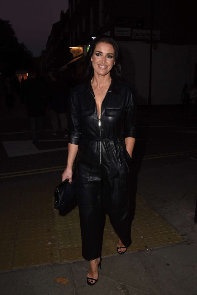 Kirsty Gallacher - Arriving at The Marie Claire Future Shapers Awards in London