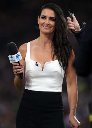 Kirsty Gallacher at Soccer Aid Event in Manchester