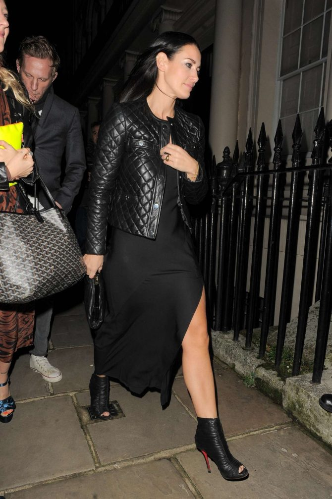 Kirsty Gallacher - Attends Evgeny Lebedev's Christmas Party in London