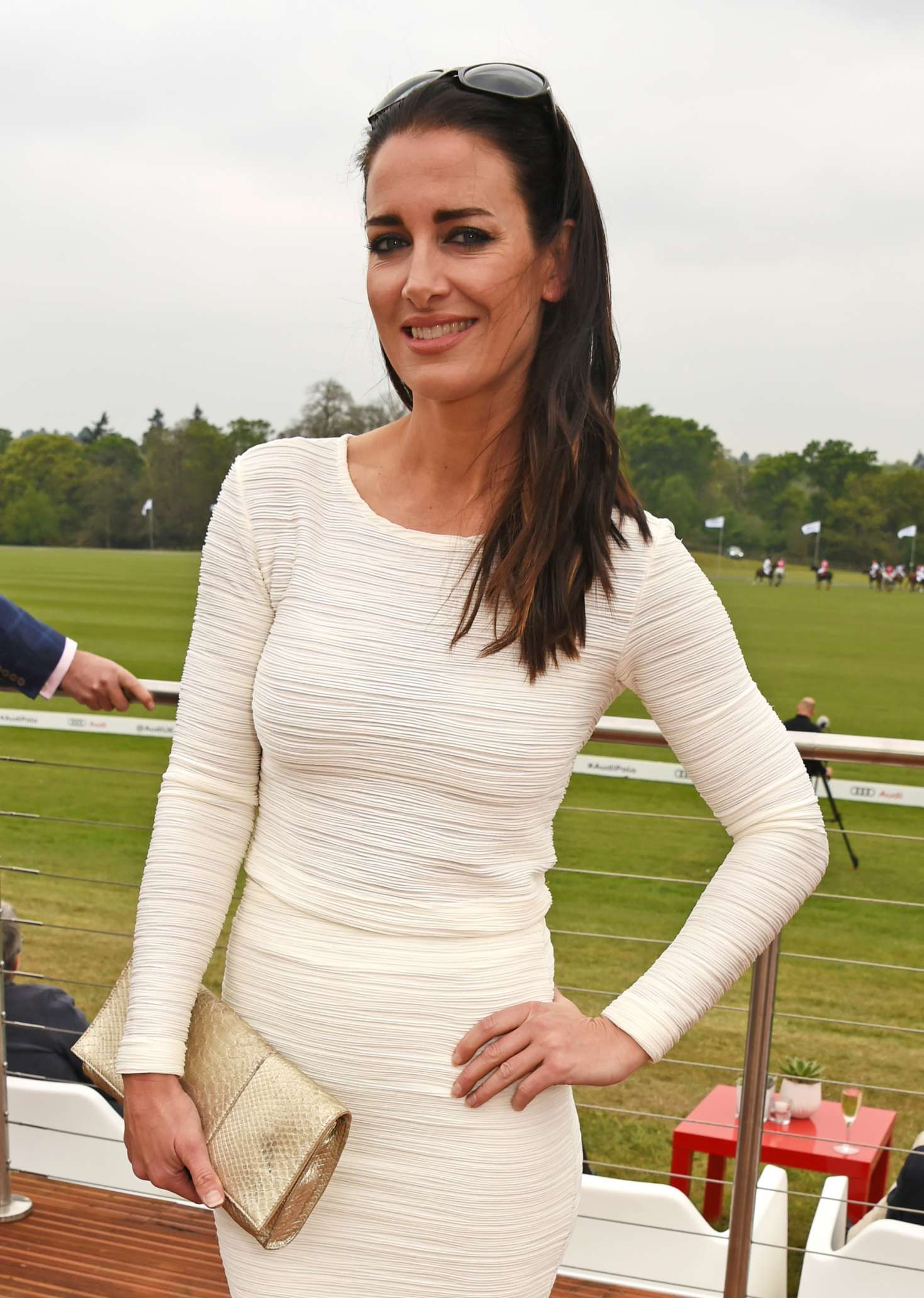 Kirsty Gallacher Audi Polo Challenge Day One In Ascot