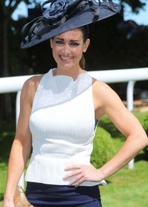 Kirsty Gallacher - Derby Day Investec Derby horse racing in Surrey