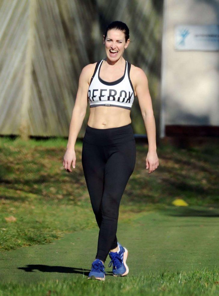 Kirsty Gallacher - London Marathon Training in Richmond