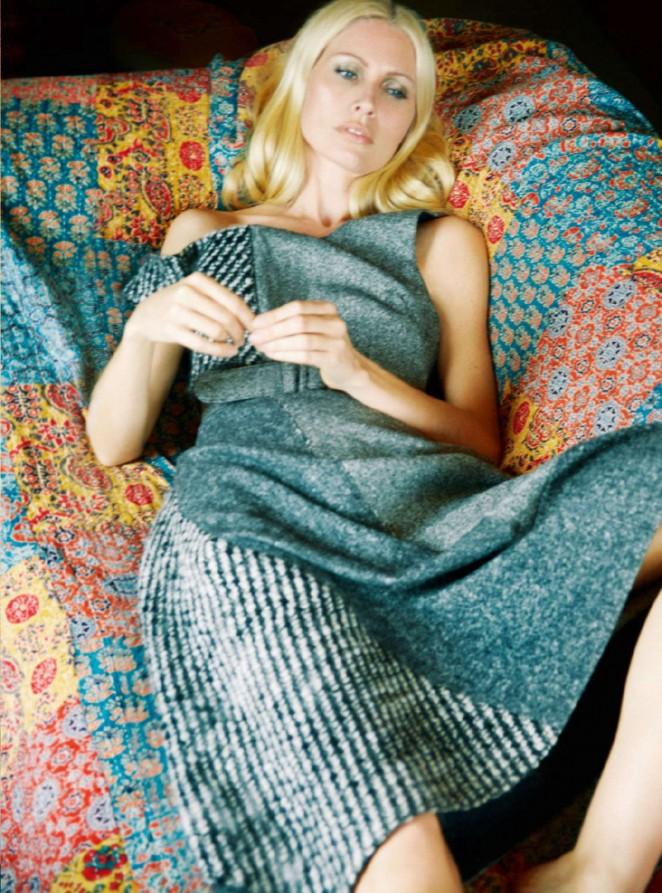 Kirsty Hume - Harper's Bazaar UK Magazine (September 2015)