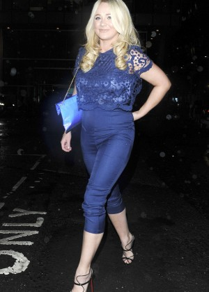 Kirsty-Leigh Porter at Kieron Richardson's 30th Birthday Party in Manchaster