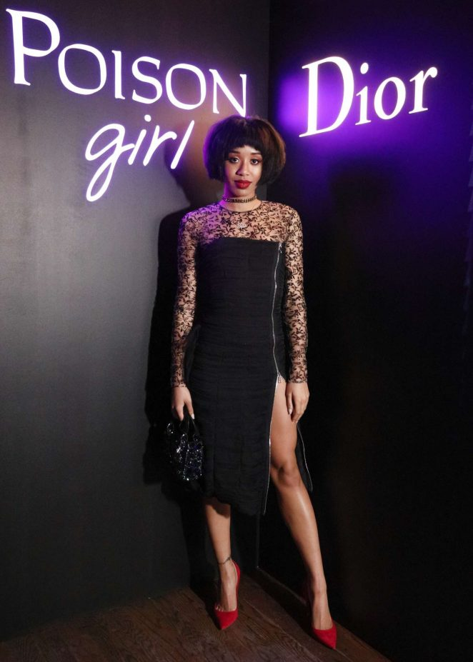 Kitty Cash - Dior Celebrates 'Poison Girl' in New York