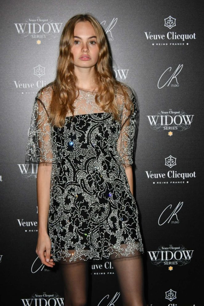Kitty Hayes - The Veuve Clicquot Widow Series VIP launch party in London